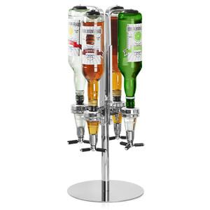 Draaibare flessenhouder voor 4 flessen