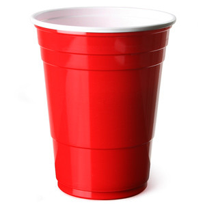 Red Party Cups 50 stuks