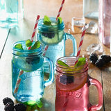Kilner Jar glazen 0,4L Blauw_