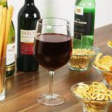 KADOTIP: Wijnglas waar fles in past _