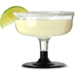 12 Wegwerp Margarita Cocktail glazen_