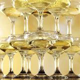 Champagne toren (20,35 en 56 glazen)_