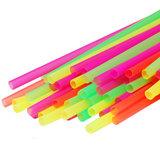 200 Neon Jumbo Rietjes_