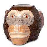 Ceramic Monkey Head Tiki Mug Sharer 34.3oz / 975ml_