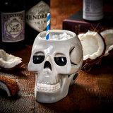 Ceramic Skull Tiki Mug 31oz / 895ml_