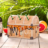 Ceramic Davy Jones' Treasure Chest Tiki Sharer 44oz / 1.25ltr_