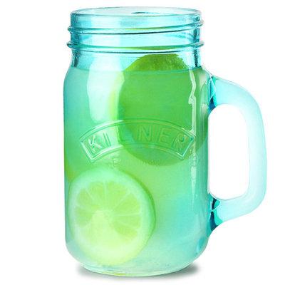 Kilner Jar glazen 0,4L Blauw