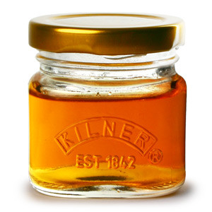 4 Kilner Jar Shotglazen met deksel 55ml