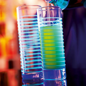 Black Light Hiball Glas 310ml