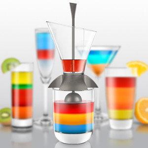 Cocktailtool voor maken van laagjes