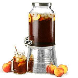 Mason Jar Drankdispenser met ijs bucket 5L