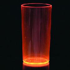5 Rood/Roze Neon Glazen Plastic 285ml