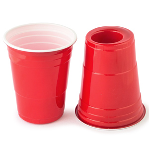 180- Red Cup & Shot in 1  (50 stuks)