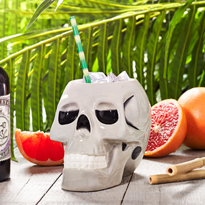 Ceramic Skull Tiki Mug 31oz / 895ml