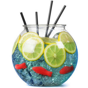Plastic Cocktail Fishbowl 2,9L