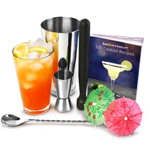 Professioneel Cocktailboek Cocktailset