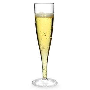 Wegwerp Champagneglas 75mm ( 10 stuks )