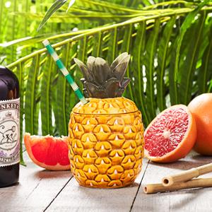 Ceramic Pineapple Tiki Mug 13oz / 365ml